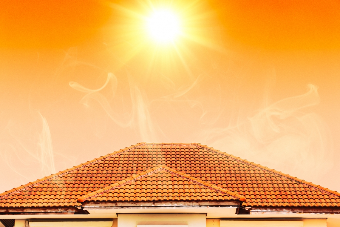 heat proof homes web - The Sun is Damaging your roof